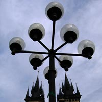 Prague lighting