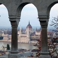Budapest arches