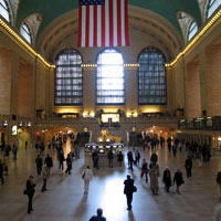 Grand Central Train Station in New York